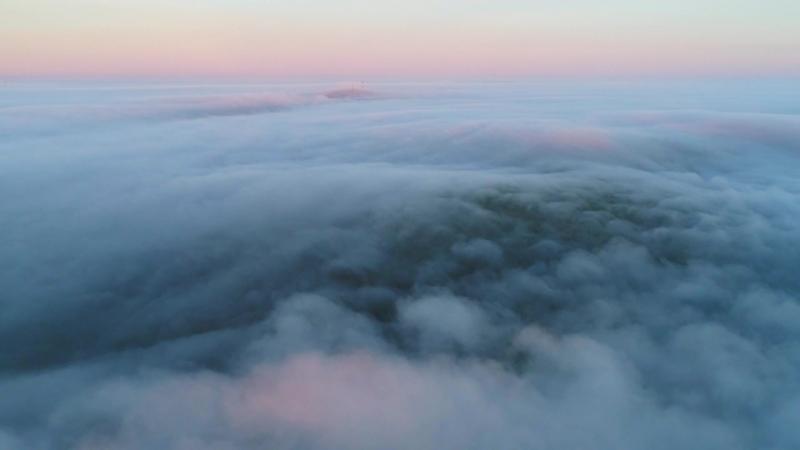 Таймлэпс. Облака над Волчихой
