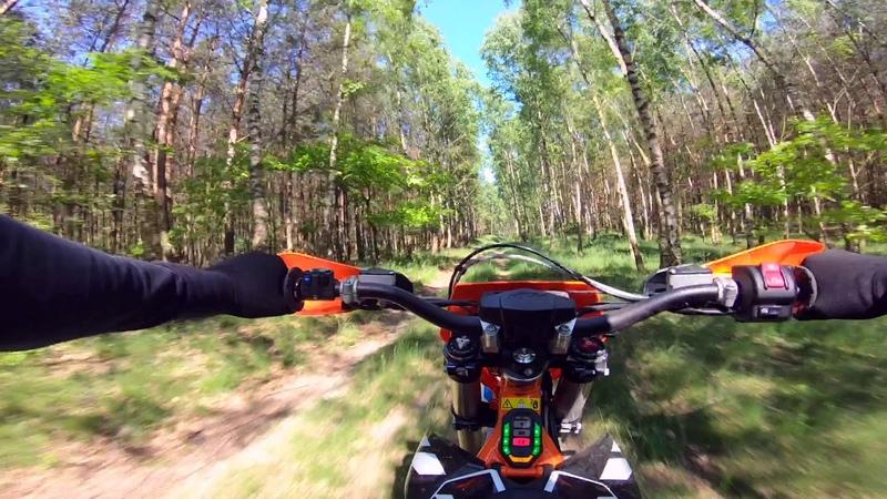 KTM Freeride E-XC 2018 NG mixed terrain ride