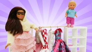 Куклы Барби: наряд для Скиппер. Игры одевалки.