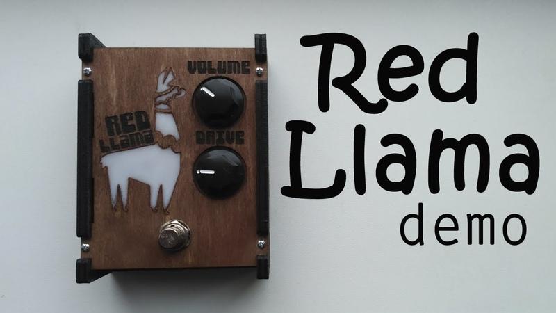 Red Llama Overdrive demo
