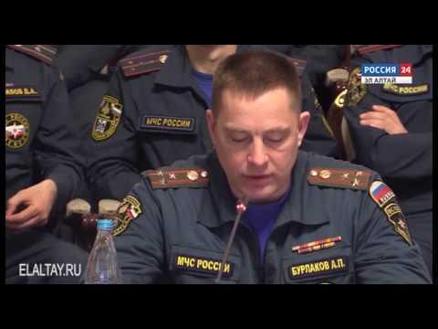 Полномочный представитель президента в СФО высоко оценил работу МЧС Республики Алтай