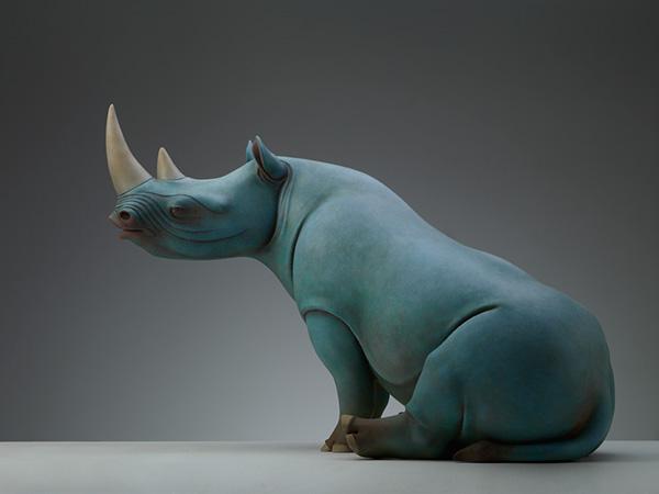 Потрясающе красивые и сюрреалистические скульптуры животных от пекинского скульптора Wang Ruilin (Вонг Руилин