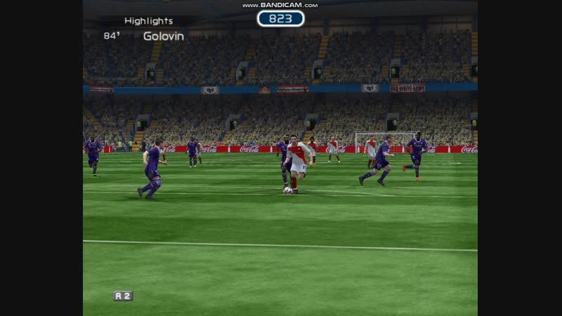 Тур 20. AS Monaco FC 3-1 Toulouse FC