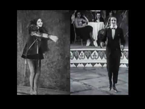Anita Berber, Epitome of 1920s Weimar Republic Excess - Two Sequences of Her Dancing on Film