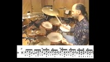 Steve Smith - Melodic Drum Solo (Transcription)