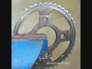Инструмент из мотоциклетной звезды!🔥 Съёмник для подшипников