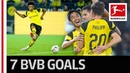 Reus, Pulisic Sancho Gala - Dortmund's Biggest Bundesliga Win in 32 Years