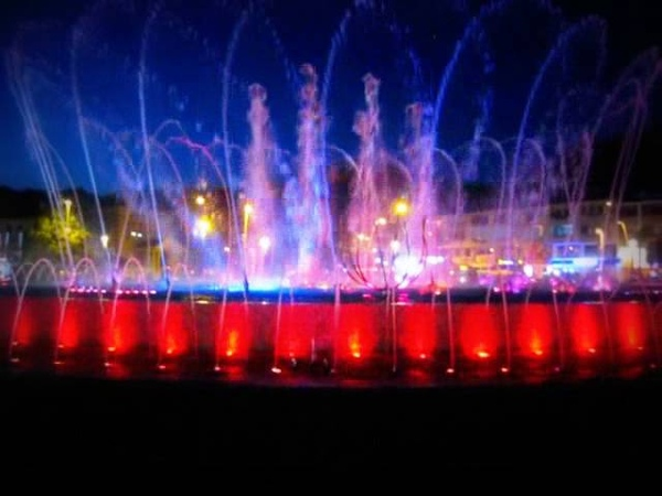 Турция. Мармарис, Поющие фонтаны. Turkey. Marmaris, Singing Fountains.