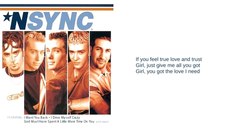 N'Sync: 06: You Got It (Lyrics)