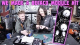 My girlfriend and I built a BEFACO Chopping Kinky Modular Synth Kit