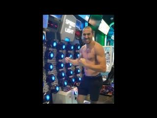 Дэйв Ледюк (чемпион MLWC по бирманскому боксу): зрительно-моторная координация