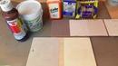 Рецепт меловой краски для Примитивного Кантри и 2 эксперимента