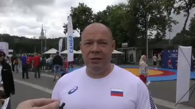 Первый вице-президент ФСБР Георгий Брюсов
