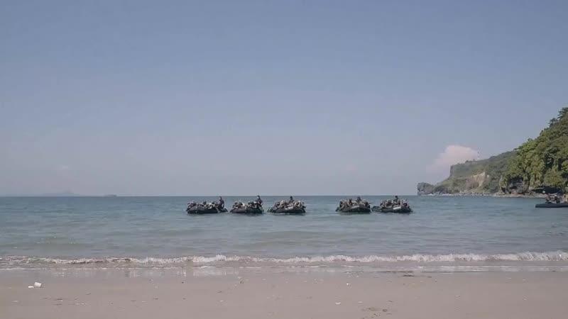 KAMANDAG 2 Philippine Marine Amphibious Raid PHILIPPINES