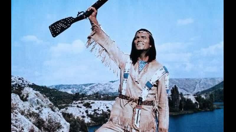 11 фильм Виннету в долине смерти Winnetou und Shatterhand im Tal der Toten 1968
