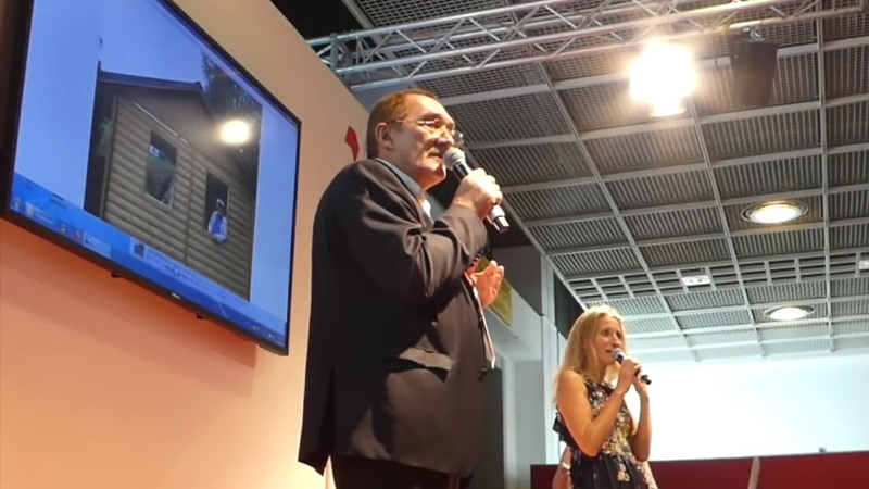 Владимир Мегре на книжной ярмарке во Франкфурте, октябрь 2018. Феномен Анастасия