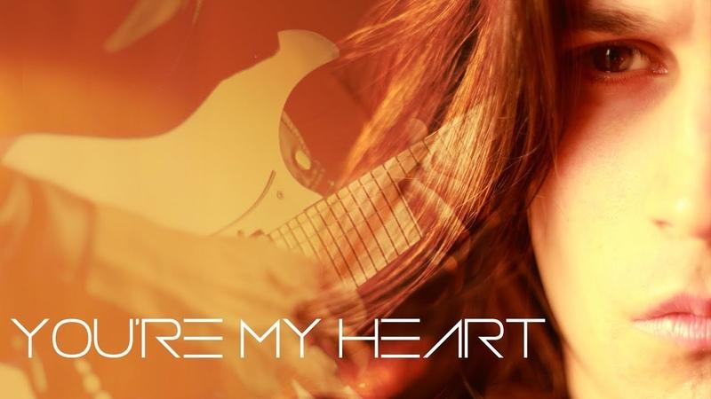 Modern Talking - You're my heart - Instrumental Guitar cover by Robert Uludag/Commander Fordo