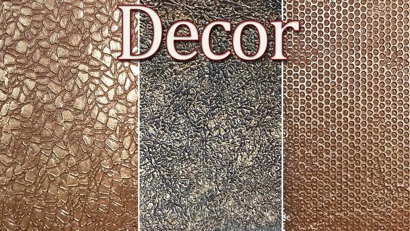 Декоративная шпаклевка 3 простых способа Декор для небольших поверхностей