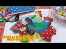 Игрушки из фетра на Новый год Мастер класс из фетра