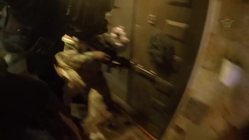 IRAQ_GO-PRO FOOTAGE OF KURDISTAN REGIONS COUNTER TERRORISM FORCES BUSTING ISIS