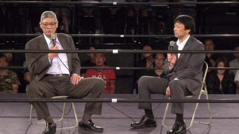 Akira Taue vs. Toshiaki Kawada (Toshiaki Kawada Produce - Holy War Vol. 3)
