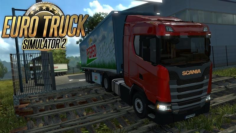 ESTRADAS PERIGOSAS - ESTRADA DENTRO DO MATO - Euro Truck Simulator 2 02