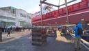 Вести В Приморье спущена на воду незаменимая баржа Камчатка