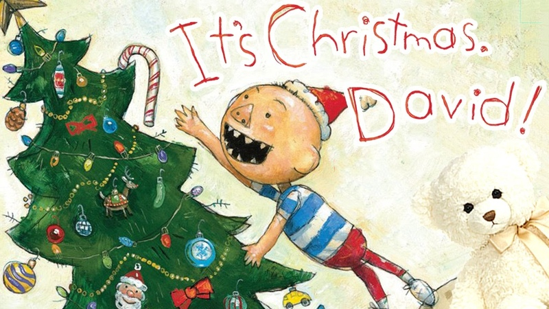 Its Christmas, David! by David Shannon   Storytime With Ms. Becky christmas books for kids