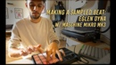 Making a sampled beat Eglen Oyna with Maschine Mikro mk3