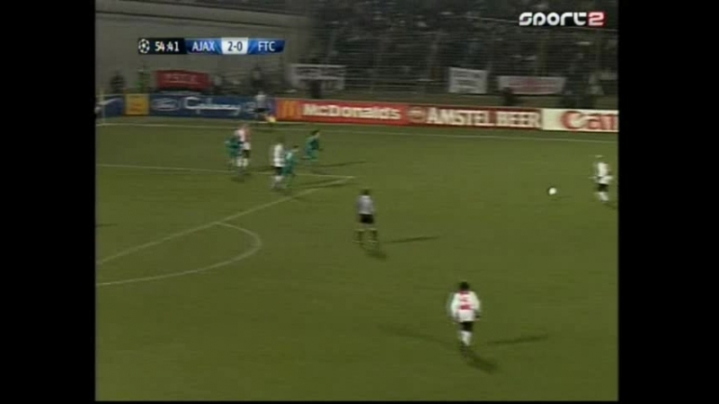 Ajax-Ferencvarosi FTC.2half.