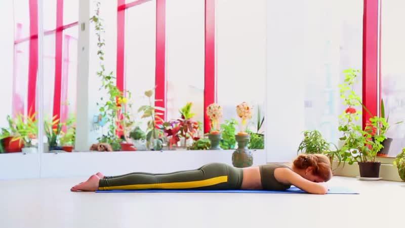 РАСПРАВЛЯЕМ ПЛЕЧИ И СПИНУ _ Упражнения для грудного отдела _ Устраняем сутулость