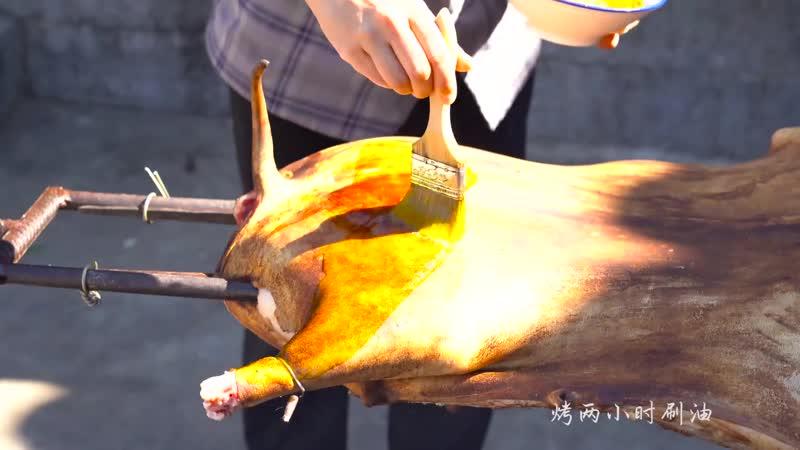 Жареный баран на вертеле по китайскому рецепту