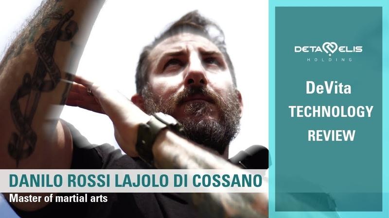 Danilo Rossi Lajolo di Cossano, master of martial arts DeVita technology review.