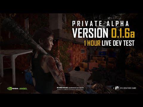 JoE Dev Team Testing Jaws of Extinction Private Alpha Version 0 1 6a