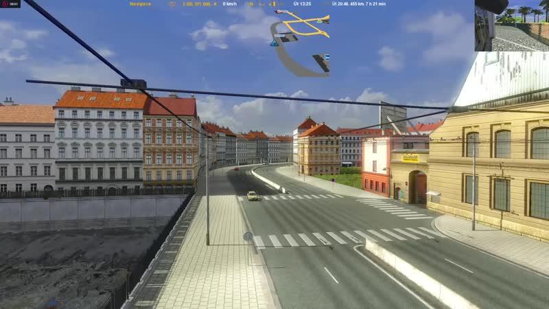 Euro Truck Simulator 2.v.1.16.2(Europe Africa Mario Map.v.10.2)Nahráno(29.10.2018)