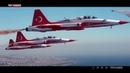 THY'den TEKNOFEST'te Türk Yıldızları ile THY uçağının tarihi uçuşuna klip