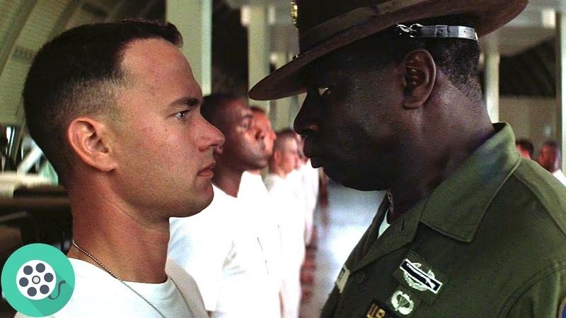 Форреста Гампа призывают в армию. Разговор о креветках. Форрест Гамп (1994) год.