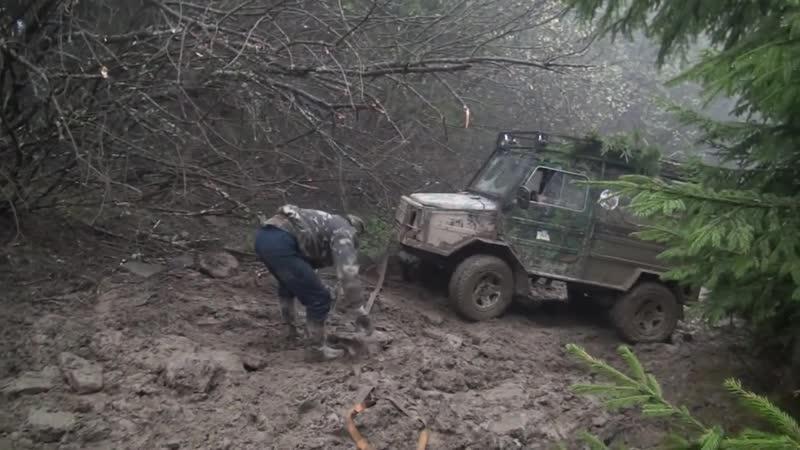 ГАЗ 66 vs Нива vs Луаз Карпатский кордон off-road 4x4