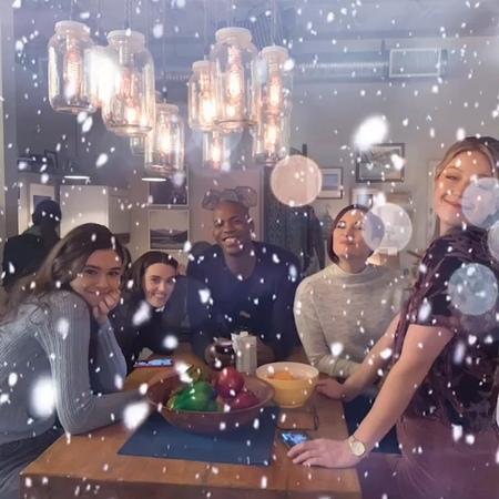 "David Harewood on Instagram: ""It's beginning to look a lot like Christmas! @chy_leigh @melissabenoist @mehcadbrooks @nicoleamaines katiemcgrath"""