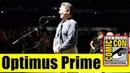 Optimus Prime Surprises Fans at BUMBLEBEE Panel Comic Con 2018 Peter Cullen