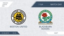 AFL19. England. League One. Day 7. Boston United - Blackburn Rovers