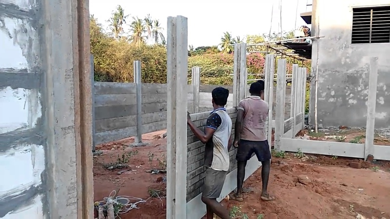 Call 7094722001 Cement Compound House Chennai Pondicherry Cement Products Walls