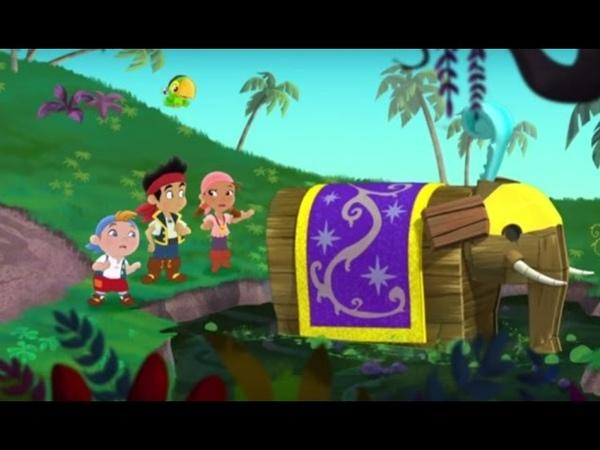 Джейк и пираты Нетландии Все серии подряд Сезон 1 Серии 16 17 18 l Мультфильм про пиратов