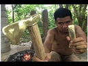 Primitive Technology Furnace and casting copper axe beautiful ax chisel