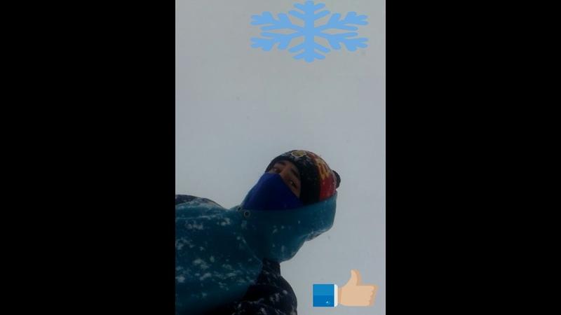 Зима - В Зерновом