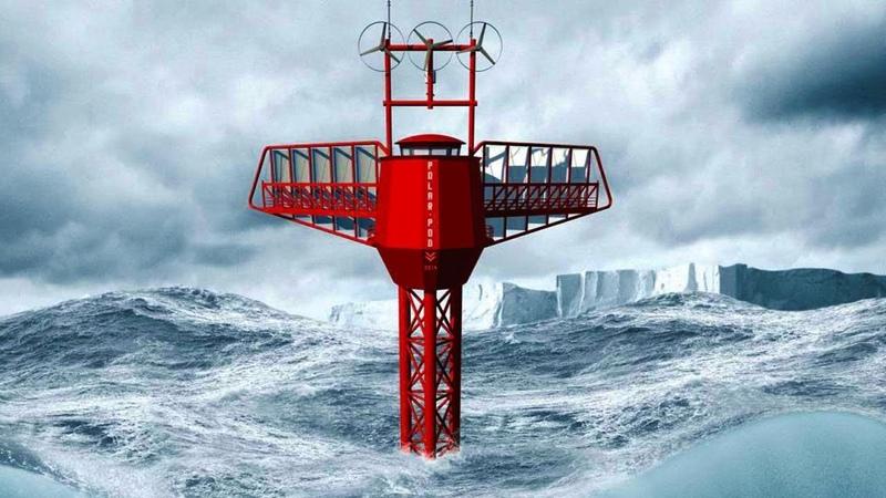 УДИВИТЕЛЬНОЕ СООРУЖЕНИЕ Дрейфующая станция Polar Pod