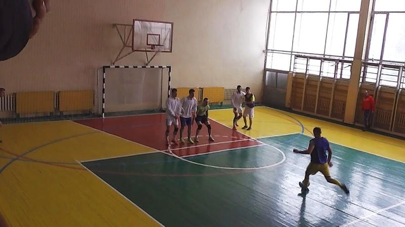 Гришівка 7-5 Сугарівське. Чемпіонат Сахновщини з футзалу 2019