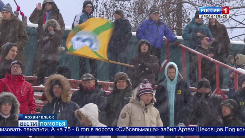 «Водник» одержал победу над новосибирским «Сибсельмашем»