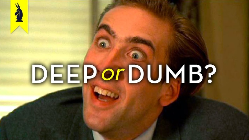 NICOLAS CAGE's Acting: Is It Deep or Dumb? – Wisecrack Edition