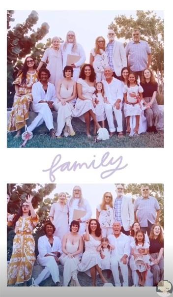 Брюс Уиллис и Эмма Хеминг обновили свадебные клятвы в присутствии Деми Мур и дочерей